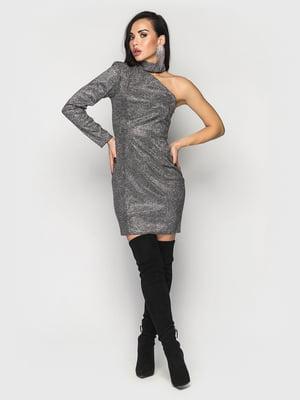 Платье графитового цвета | 5697317