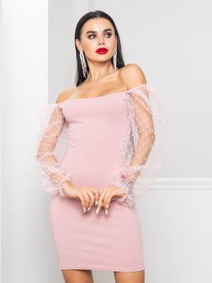 Платье цвета пудры | 5697333
