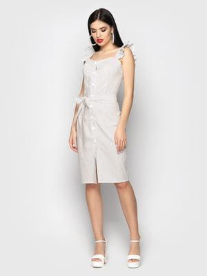 Сукня біла в горох | 5697386