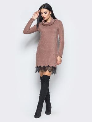 Сукня кавового кольору   5697393