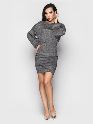 Платье графитового цвета | 5697397