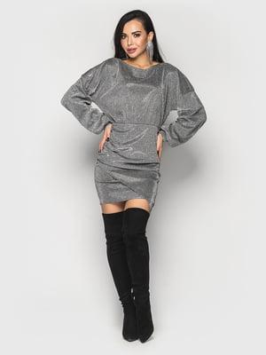 Платье серебристое | 5697398