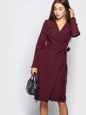 Платье бордовое | 5697400