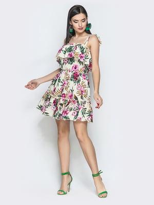 Сукня в квітковий принт | 5697443