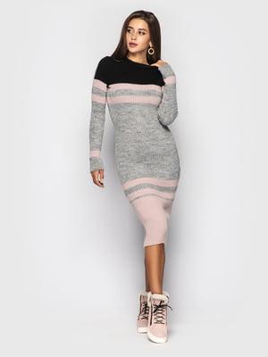 Сукня триколірна | 5697481
