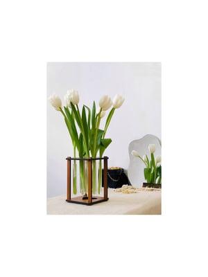 Ваза-подставка для цветов с колбами | 5697795