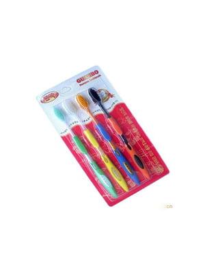 Бамбуковые зубные щетки (4 шт.) | 5697844