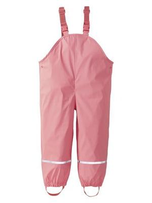 Півкомбінезон-дощовик рожевий | 5699553