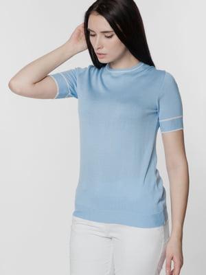 Джемпер-топ голубого цвета | 5699660