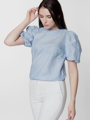 Блуза голубого цвета | 5699670