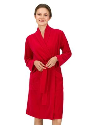 Халат красного цвета | 5701002