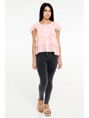 Блуза светло-розовая | 5699679