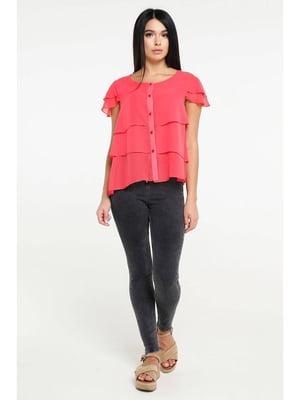 Блуза ярко-розовая | 5699681