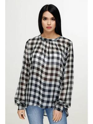 Блуза клетчатая | 5699686