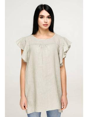 Блуза цвета хаки | 5699693