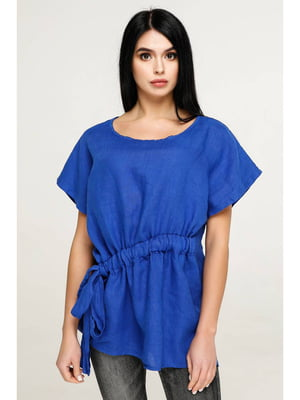 Блуза цвета электрик | 5699697