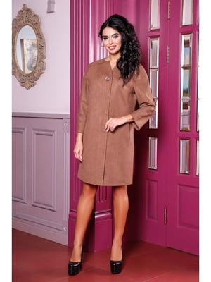 Пальто коричневое | 5699736