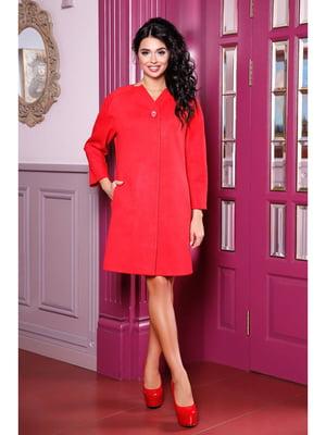 Пальто красное | 5699737