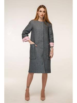 Пальто серое | 5699789