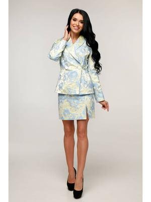 Костюм: жакет и юбка | 5699831