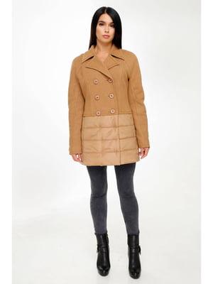 Куртка желто-коричневая | 5699846