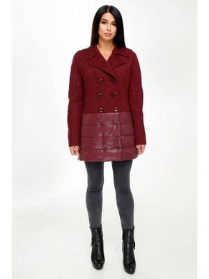 Куртка темно-красная | 5699851