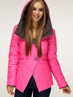 Куртка малиновая   5699867