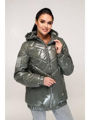 Куртка оливкового цвета | 5699910