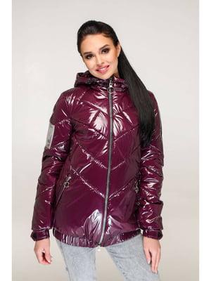 Куртка бордовая   5699912