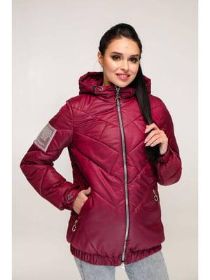 Куртка темно-красная | 5699913