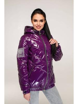 Куртка темно-фиолетовая | 5699915