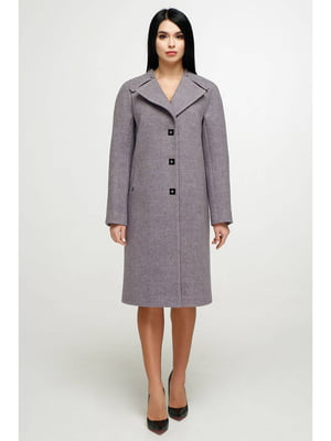 Пальто сиреневое   5700226