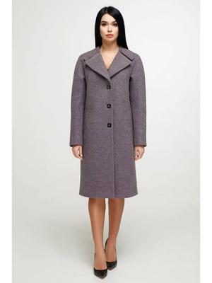 Пальто сиреневое   5700227