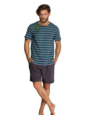 Пижама: футболка и шорты | 5701406