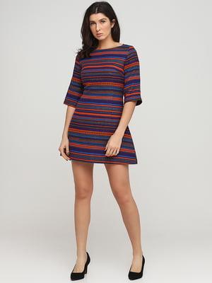 Сукня з орнаментом-смужкою | 5701443