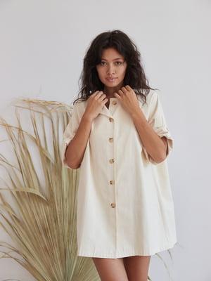 Платье бежевого цвета | 5701468