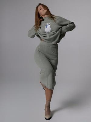 Костюм: светр і спідниця | 5701500
