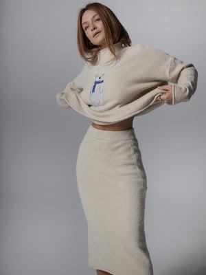 Костюм: свитер и юбка | 5701501