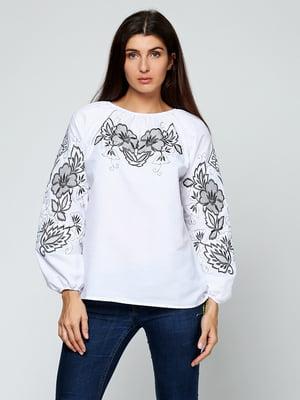 Вишиванка біла з орнаментом | 5701683