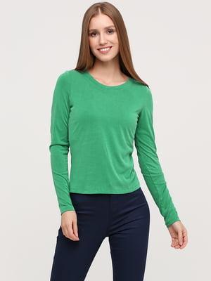 Лонгслив зеленого цвета | 5695855