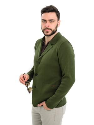 Пиджак цвета хаки | 5701803