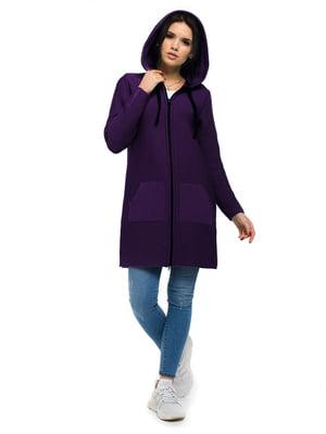 Кардиган фиолетовый   5632188