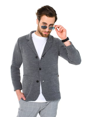 Пиджак серый | 5632106