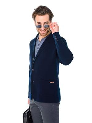 Пиджак темно-синий | 5632105