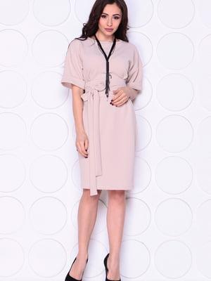 Платье бежевое   5701434