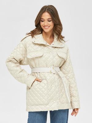 Куртка молочного цвета | 5701930