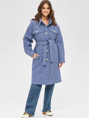 Пальто синє    5701975