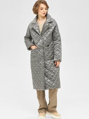 Пальто серое   5701980