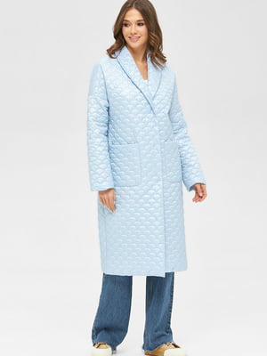 Пальто блакитне | 5701988