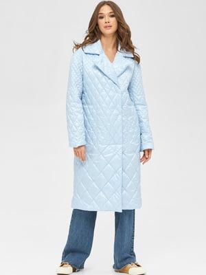 Пальто блакитне | 5701992